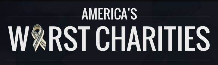 america's worst charities, charity, transparency, bad charity